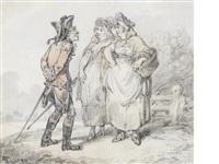 an eye for a fair wench by thomas rowlandson