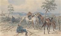 soldatenrast by alexander ritter von bensa