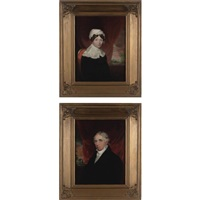 mr. charles sidney breese (+ mrs. charles sidney breese; pair) by samuel f.b. morse