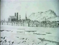 view of montreal by henry james warre