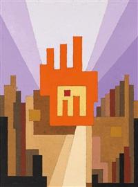ohne titel (architektonische formationen) by thilo maatsch