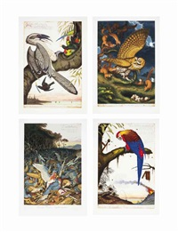 four prints by the artist (4 works) by walton ford