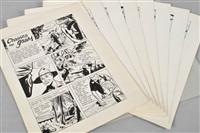 huit planches originales (set of 8) by herbert geldhof