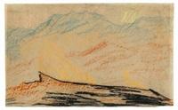 gebirgslandschaft by carl fredrik hill