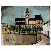 l'eglise by bernard buffet