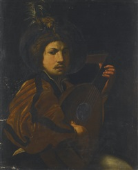 a lute player by michelangelo merisi da caravaggio