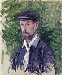 portrait d'eugène lamy by gustave caillebotte