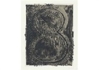 figure 8 (from black numerals) by jasper johns