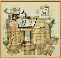 the desk, july 1st by david hockney