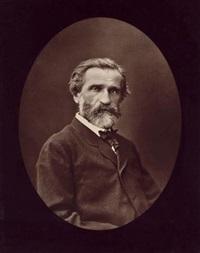 portrait of giuseppe verdi by ferdinand j. mulnier