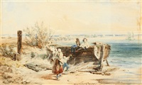démonter le bateau by jacques-louis david