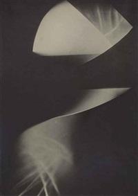 sans titre (photogramme) by lászló moholy-nagy