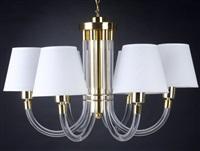 six-arm chandelier by dorothy c. thorpe