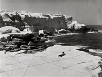 christo's wrapped coast (3 works) by harry shunk and janos kender