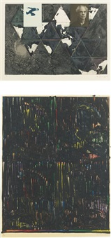 after holbein by jasper johns