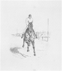 at the finish by henry alken (-unattributable)