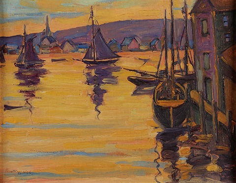 the golden hour by fern isabel coppedge