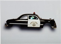 registered driver flat series: 1949 ford police cruiser by peter sarkisian