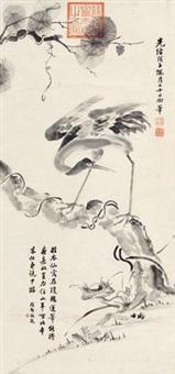 松寿图 by empress dowager cixi
