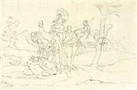 philippus tauft den kämmerer aus dem morgenland by simon klotz