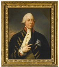 portrait of george iii by gainsborough dupont