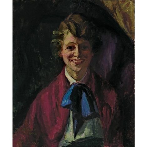 the picture of woe by john french sloan