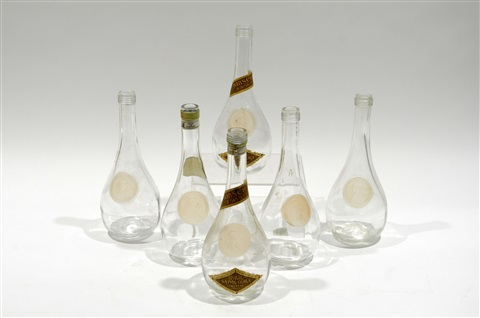 six carafes clos sainte odile by rené lalique