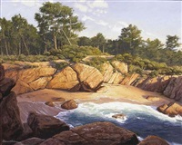 hidden beach by dennis doheny