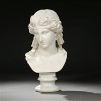 bust of a greek god, possibly dionysus by continental school (19)