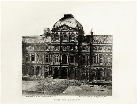 the tuileries by william henry fox talbot