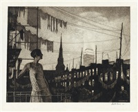 glow of the city by martin lewis