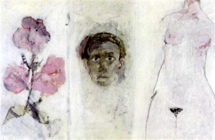 autoportrait hiver 1966 67 n3 by bernard dufour