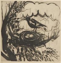 magpie by brett whiteley