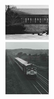 (i) stack wing, ames free library, north easton ma, 1977-79; (ii) the shoreliner, guildford, ct (2 works) by james welling