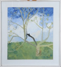 boothby orchard in spring by kate nicholson