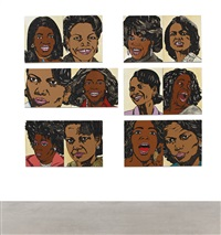 when ends meet #1 (in 12 parts) by mickalene thomas