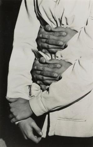 hands (multiple exposure) by weegee