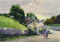 dans le compte de cork, en irlande (study) by william brymner