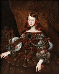 margarita teresa av spanien (1651-1673) by diego rodríguez de silva y velásquez