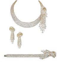 jewellery set (set of 3) by randa tabbah