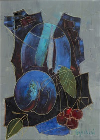 nature morte aux fruits by tony agostini