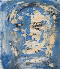 head ix by leon golub