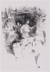 the blacksmith by james abbott mcneill whistler