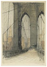 brooklyn bridge aufgang