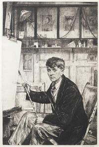 charles cundall by francis h. dodd