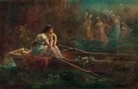 der traum einer dame im boot: der elfenreigen by hans zatzka