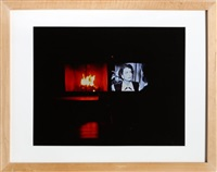 joan crawford's eyes on fire - thanksgiving, new jersey by nan goldin