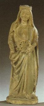 st. catherine of alexandia by german school (14)