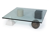 metafora couch table by lella and massimo vignelli