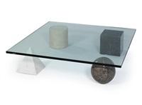 metafora couch table by lella and massimo vignelli